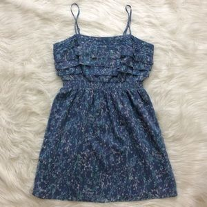 lc lauren conrad • floral print mini dress • sz 12